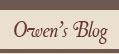 Owen Tylers Blog